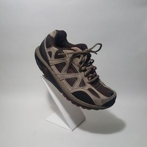 MBT vivian fitness shoes brown and tan US 7m